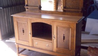 Twist Oak buffet 23