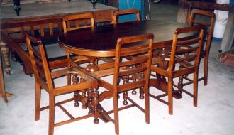 1940′s dining setting 50