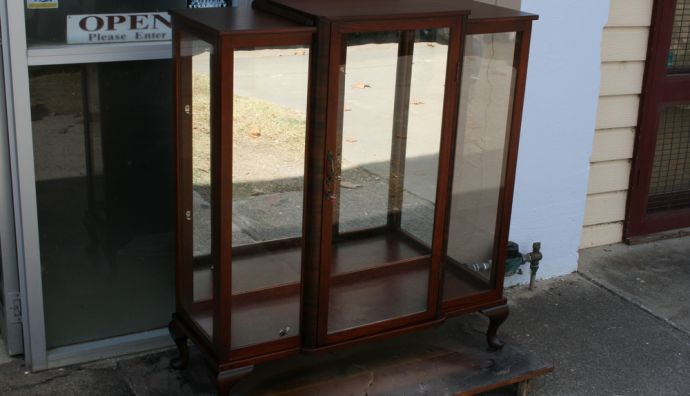 Queen Anne Display Cabinet 4