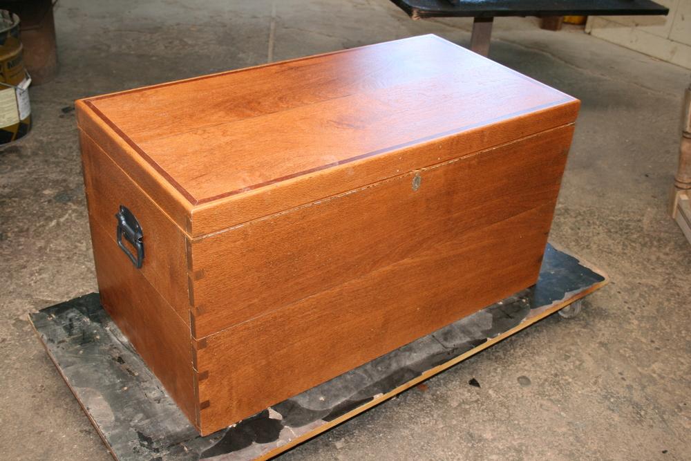 Silky oak box 4 | Clarelle Furniture Restoration