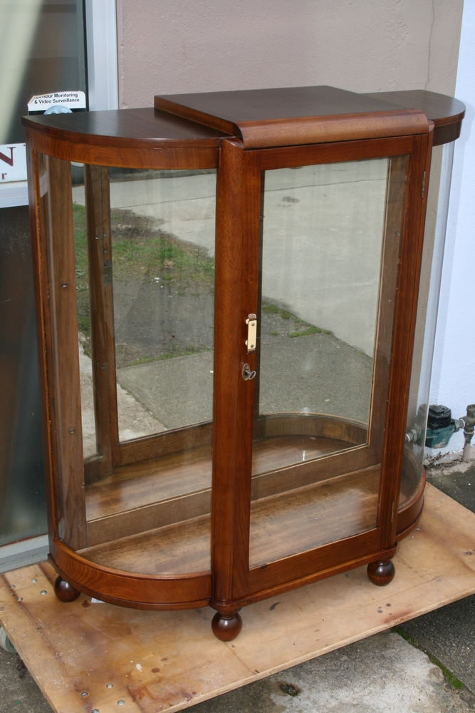 Art Deco Display Cabinet 1 Clarelle Furniture Restoration