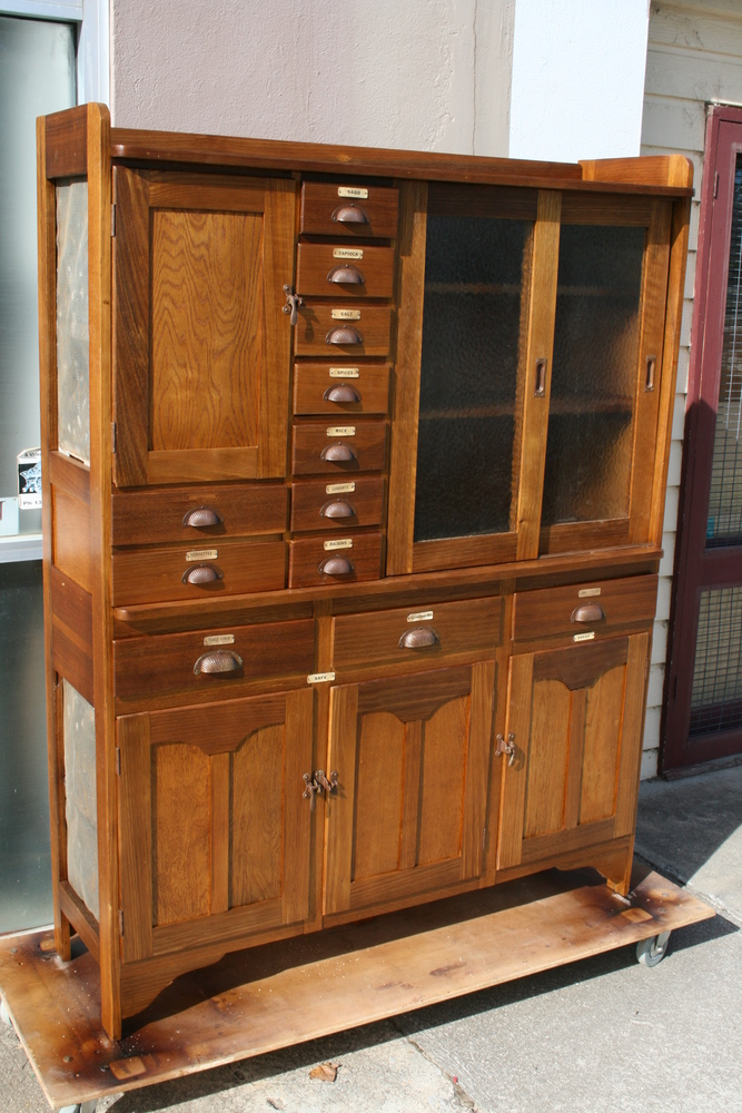 solid oak kitchen hutch 6 clarelle furniture restoration home furniture kitchen hutch open door amish connections