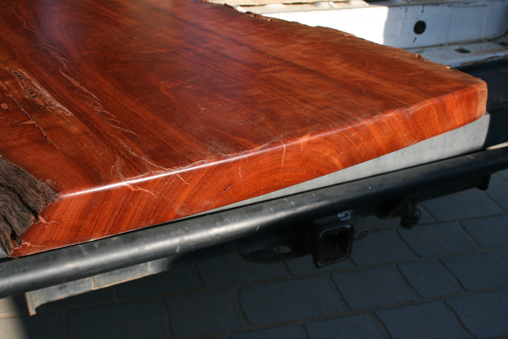 Polished Red Gum Timber 1 Clarelle Furniture Restoration