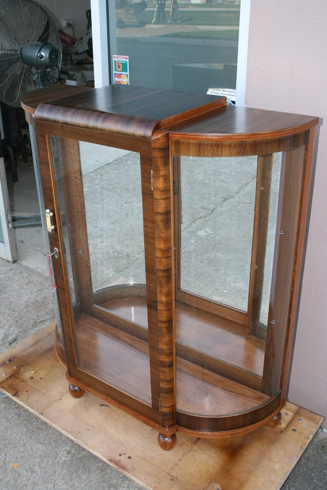 Art Deco Display Cabinet 6 Clarelle Furniture Restoration