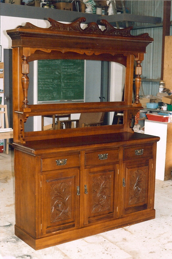 Edwardian Carved Sideboard 24   Clarelle Furniture Restoration