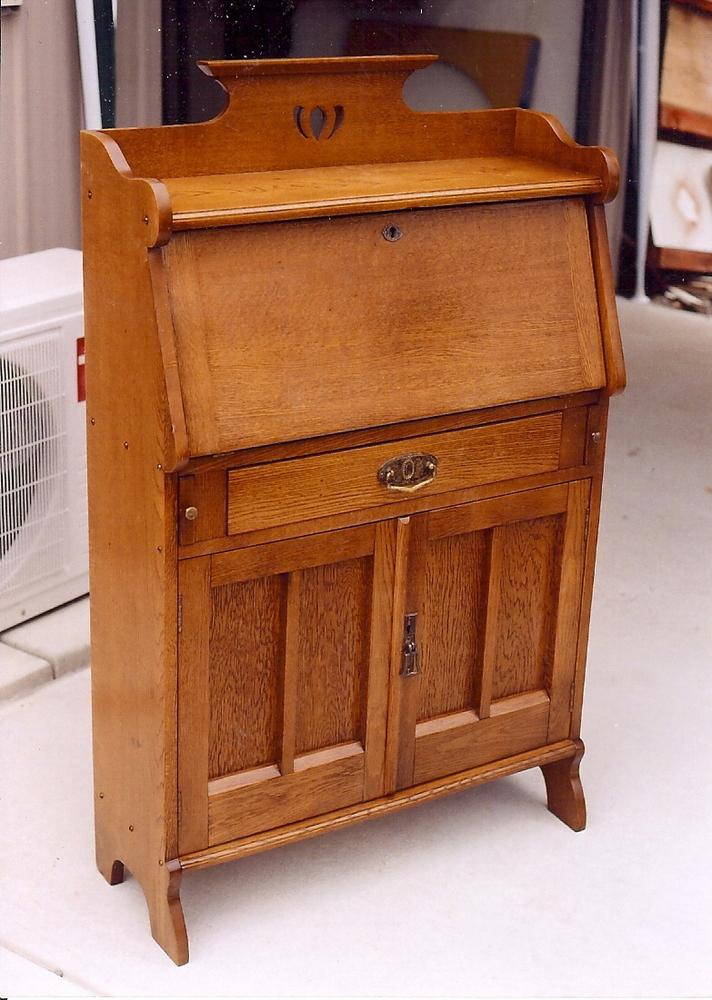 Drop Front Desk 35 Clarelle Furniture Restoration